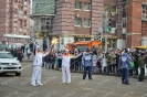 Stage of the Olympic torch relay Sochi 2014 in Irkutsk_21