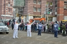 Stage of the Olympic torch relay Sochi 2014 in Irkutsk_24
