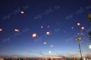 Запуск небесных фонариков 31.08.2013