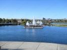 Светомузыкальный фонтан у острова Юность