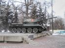Памятник - танк Т-34-85