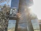 Обелиск на месте гибели летчикам-испытателям, погибшим при исполнении служебного долга