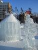 Ледяные фигурки. Сквер Кирова. Зима 2010-2011
