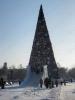 Главная елка Иркутской области. Сквер Кирова. Зима 2010-2011