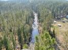 Река Олха. Вид со скальника